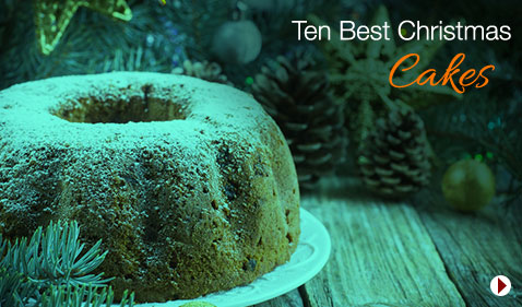 Ten Best Christmas Cakes